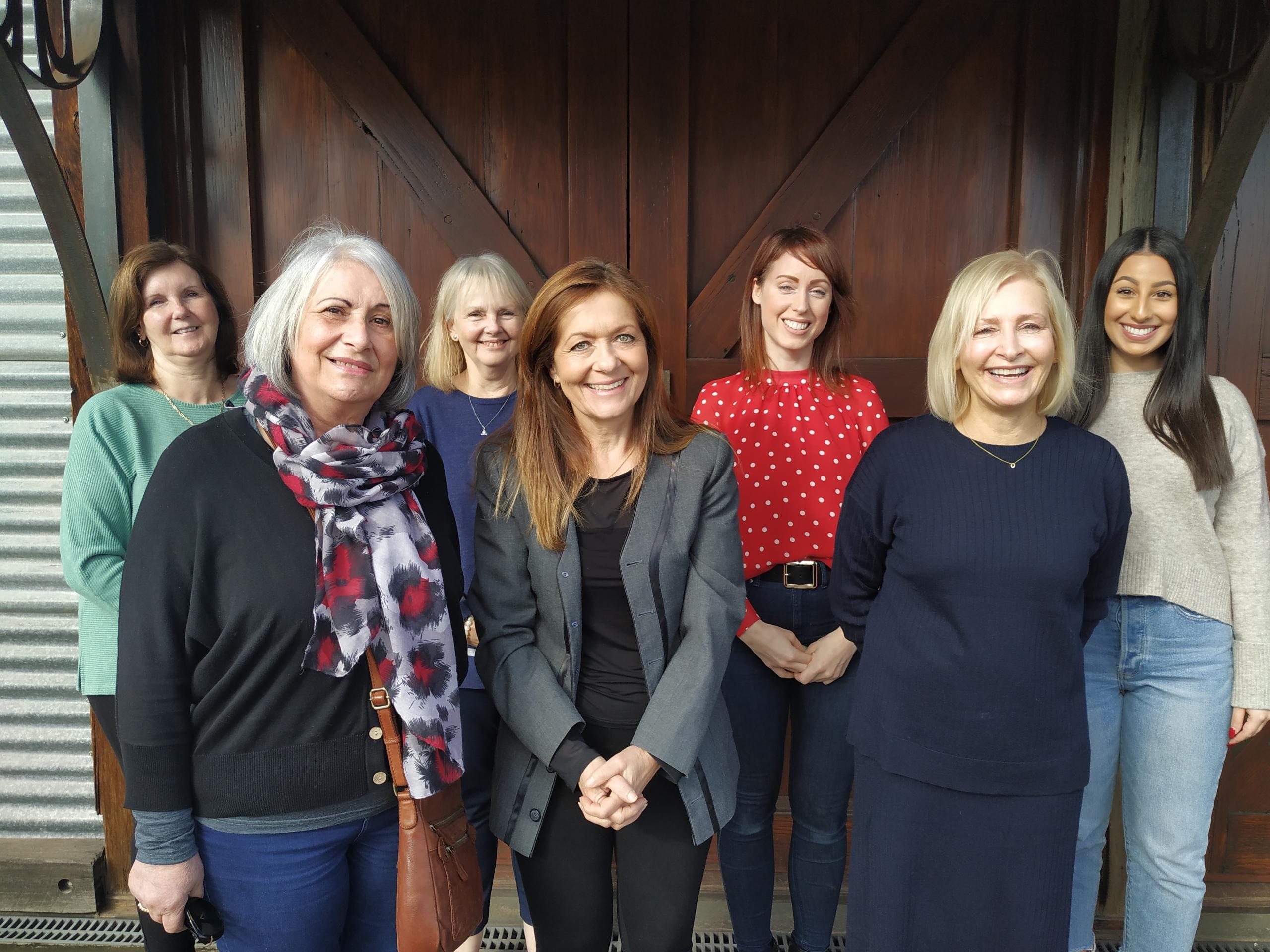 Admin Team: Noelene, Nadia P, Denise, Tiziana, Jemell, Tracey and Nadia G